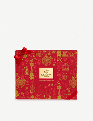 GODIVA Holiday chocolate gift box 215g