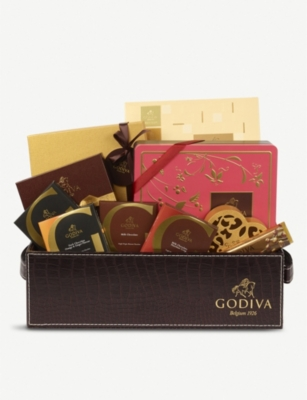 GODIVA Luxury chocolate hamper