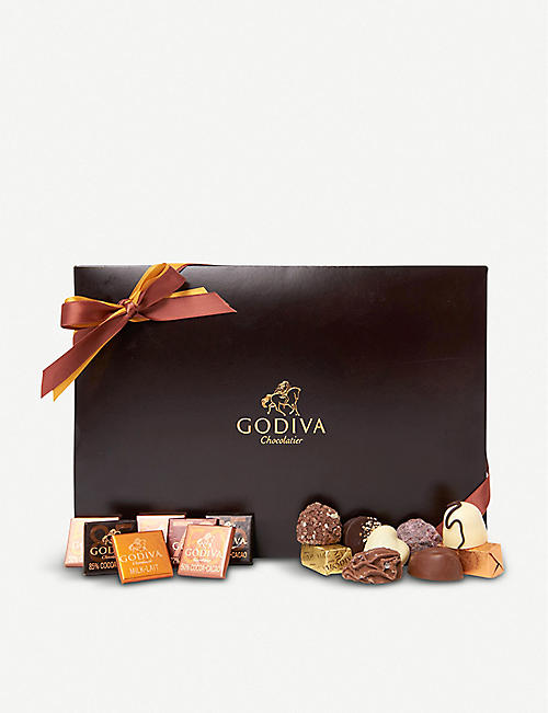 GODIVA: Royal suede chocolates box of 24
