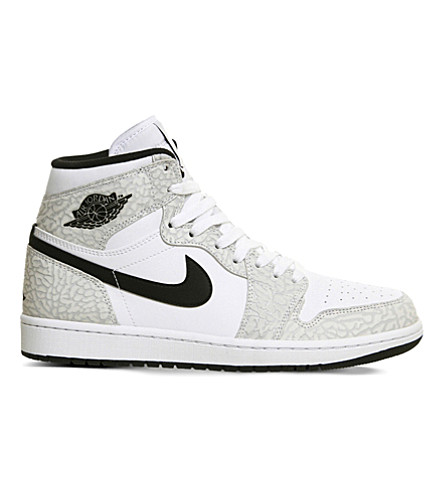 973e1941393d NIKE - Air Jordan 1 OG canvas high-top trainers