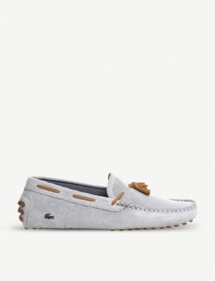 38eb693af LACOSTE - Concours tassle suede driving moccasins