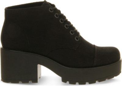 VAGABOND Dioon canvas boots