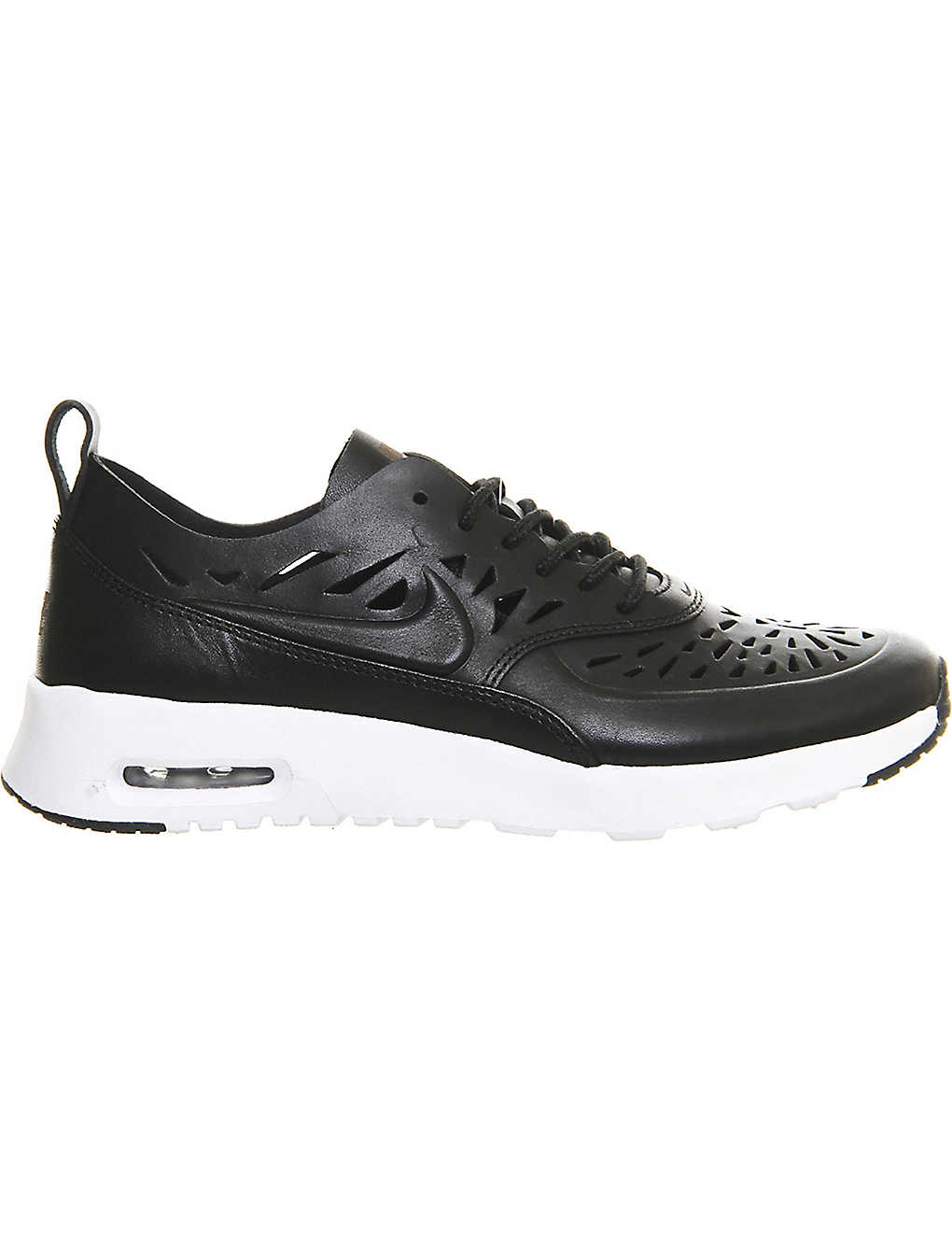 8d6e323947543 NIKE - Air max thea cut-out leather trainers | Selfridges.com