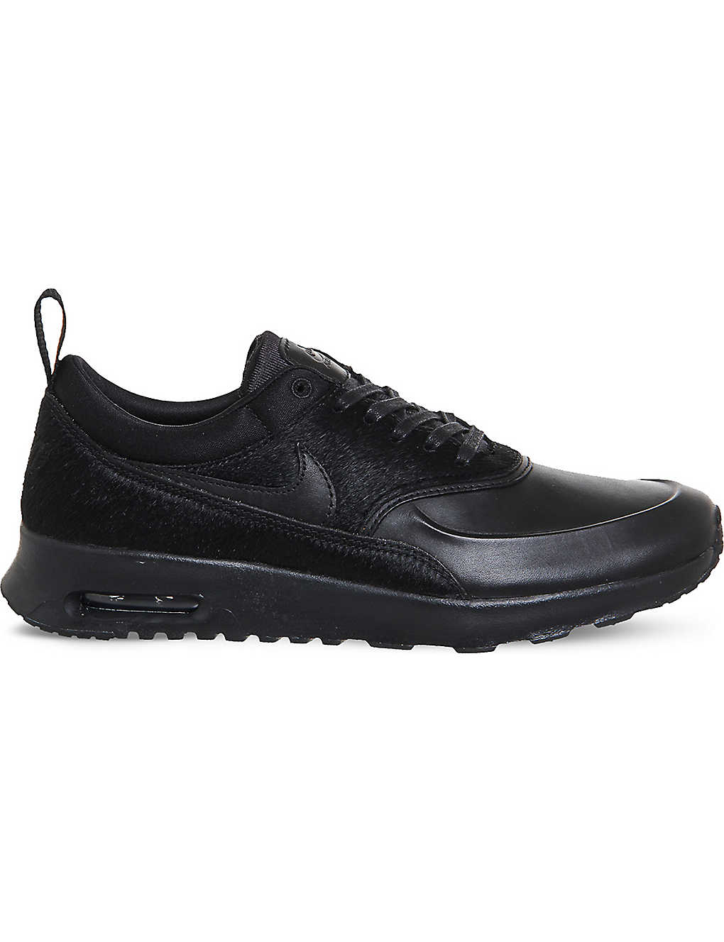 super popular 74674 04553 ... Air Max Thea pony-hair leather trainers zoom ...