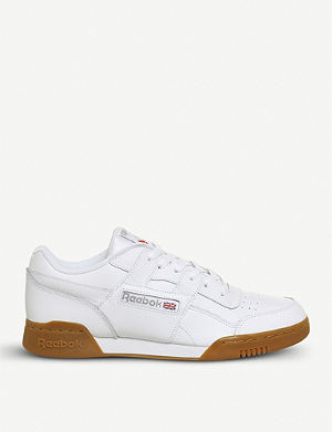 c18c26b310f Revenge Plus suede and leather trainers. REEBOK