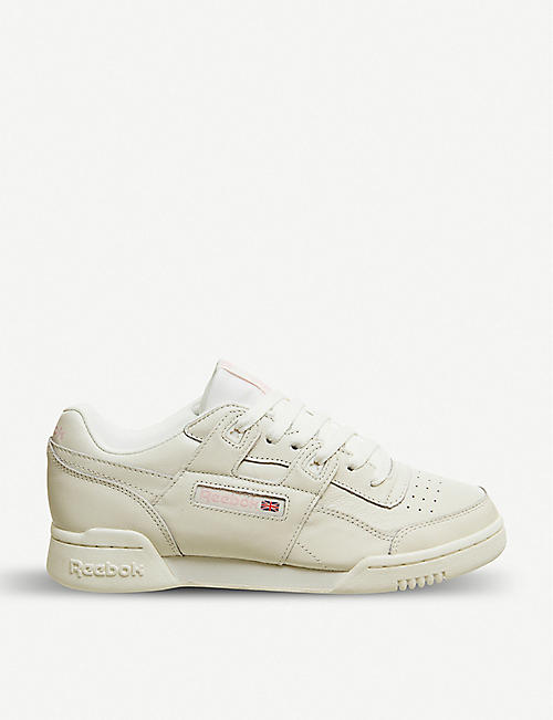 9dc13437665 REEBOK Workout Lo Plus leather trainers
