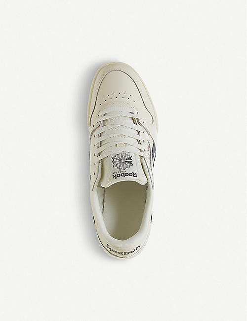 REEBOK Phase 1 Pro leather trainers