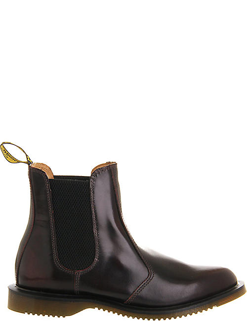 DR. MARTENS Kensington leather chelsea boots