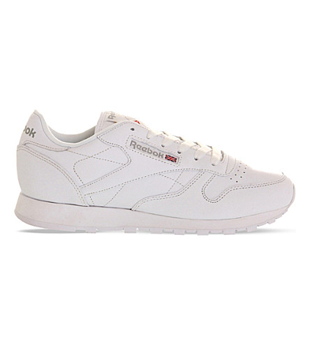 3554d3d8a1c ... REEBOK Classic leather trainers (White+leather. PreviousNext