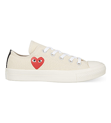 cdg converse low