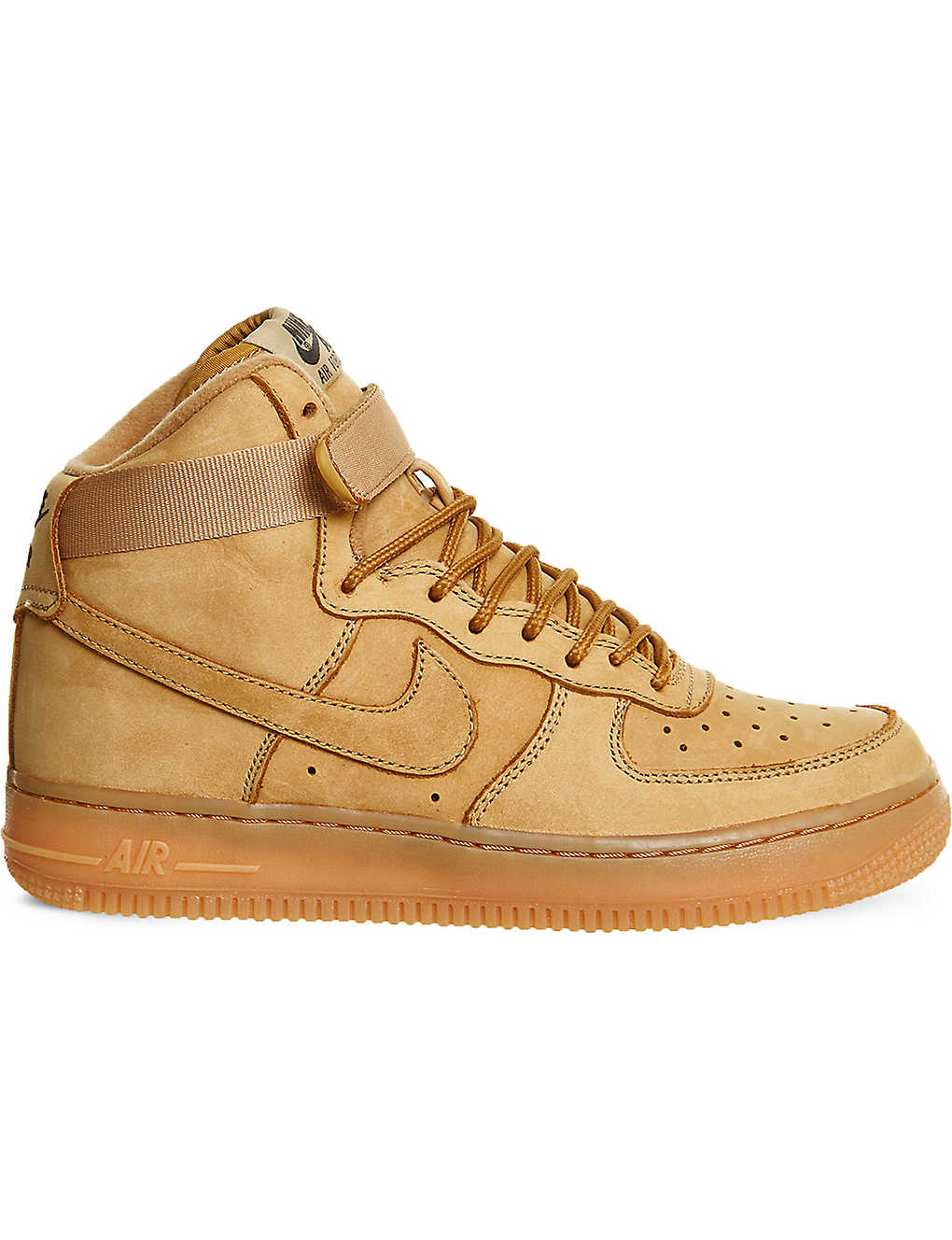 NIKE - Air Force 1 high-top leather trainers   Selfridges com