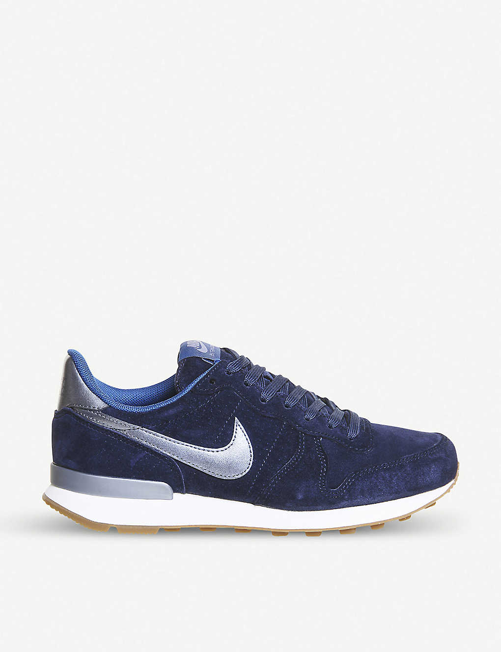 outlet store 05db0 55872 NIKE Internationalist suede trainers