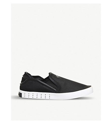 7de95ab97a92 ... ADIDAS Y3 Y3 Laver neoprene slip-on trainers (Black+white. PreviousNext