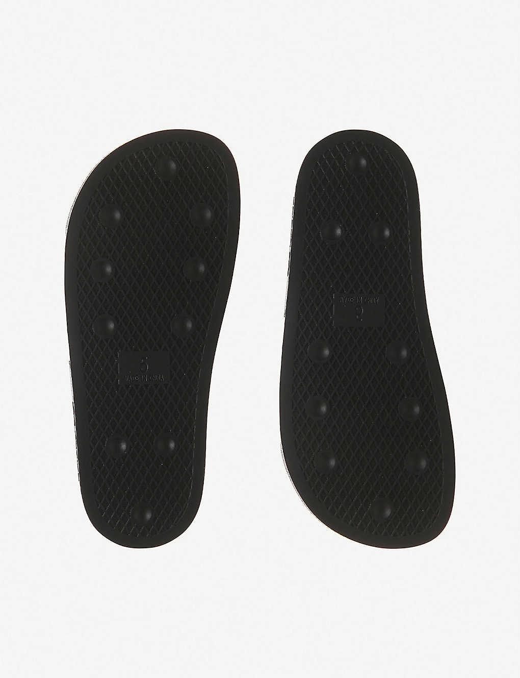 049d53461 ... Adilette sliders - Black iridescent