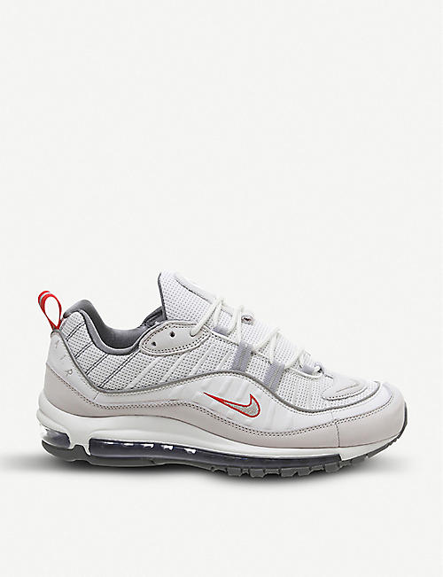 official photos d9750 010dd NIKE Air Max 98 leather trainers