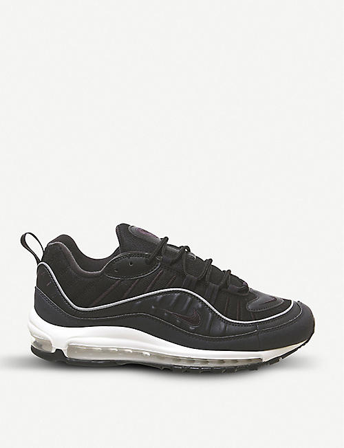 official photos fa8da 7be63 NIKE Air Max 98 leather trainers