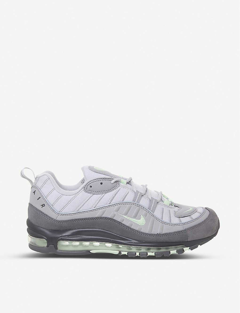 NIKE Air Max 98 leather and mesh trainers |