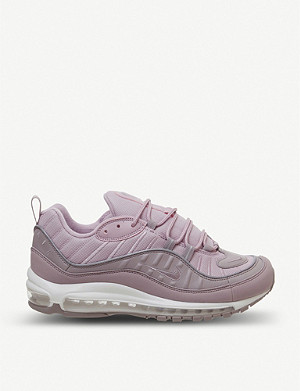 NIKE Air Max 98 leather trainers