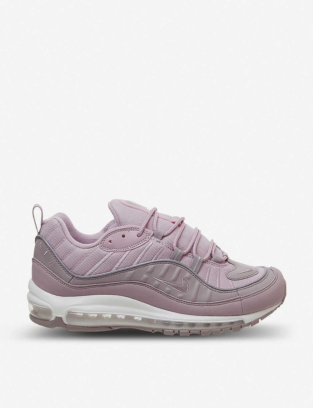 NIKE: Air Max 98 leather trainers