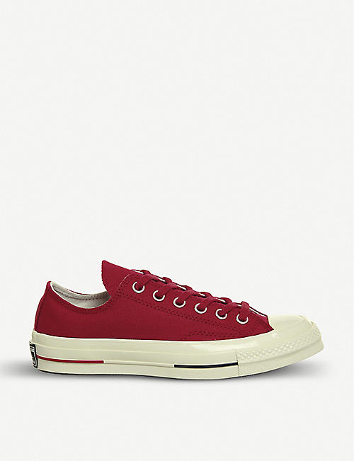 5d345826c36788 CONVERSE All Star Ox 70 s suede low-top trainers