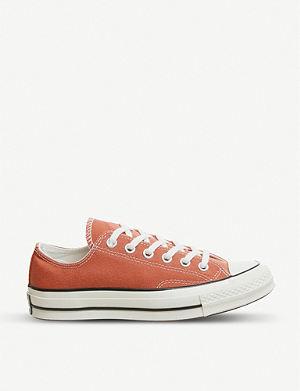 4217853e7534 CONVERSE - Chuck Taylor All Star Lift canvas platform sneakers ...