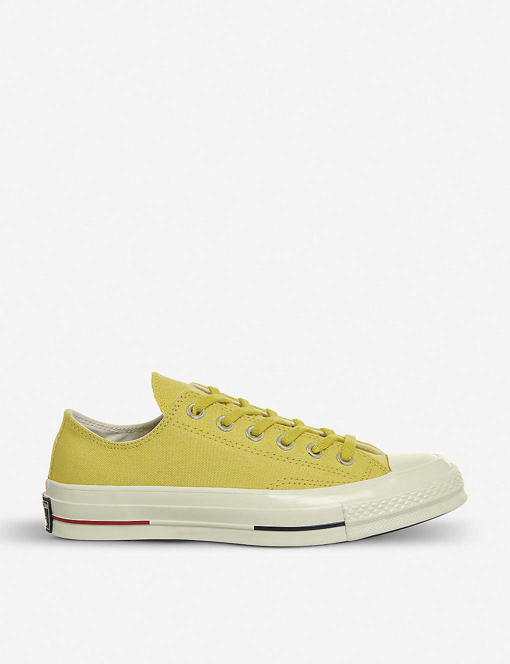 84e37d41f109eb All Star Ox 70 s canvas low-top trainers - Desert gold navy red ...