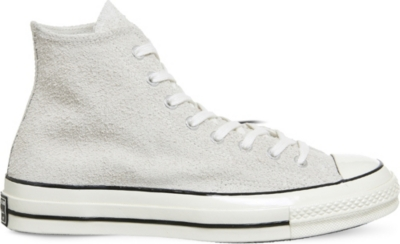1ff406ab980c CONVERSE - Chuck Taylor All Star 70s Hi suede trainers