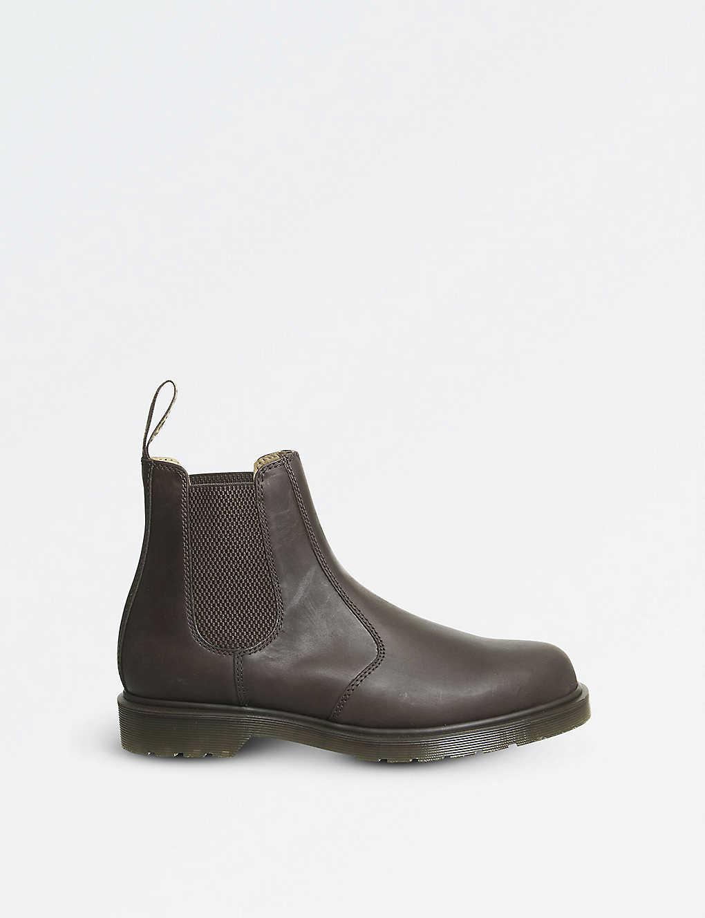 eca4f60a307 DR. MARTENS - 2976 Crazy Horse Chelsea boots | Selfridges.com