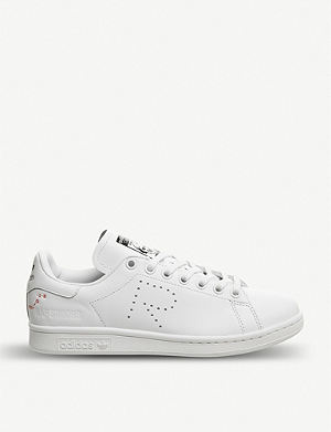 new arrival 19f3d 76f9e ADIDAS X RAF SIMONS Stan Smith leather trainers