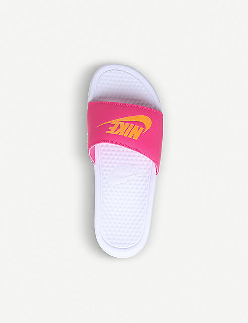 NIKE Benassi rubber slider sandals