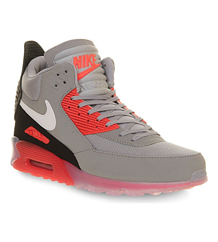 nike nike air max 90 high top trainers. Black Bedroom Furniture Sets. Home Design Ideas