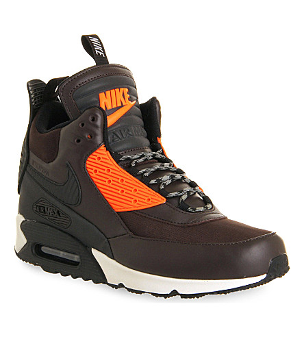 nike air max 90 high top trainers. Black Bedroom Furniture Sets. Home Design Ideas