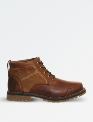 TIMBERLAND Larchmont Chukka suede leather boots