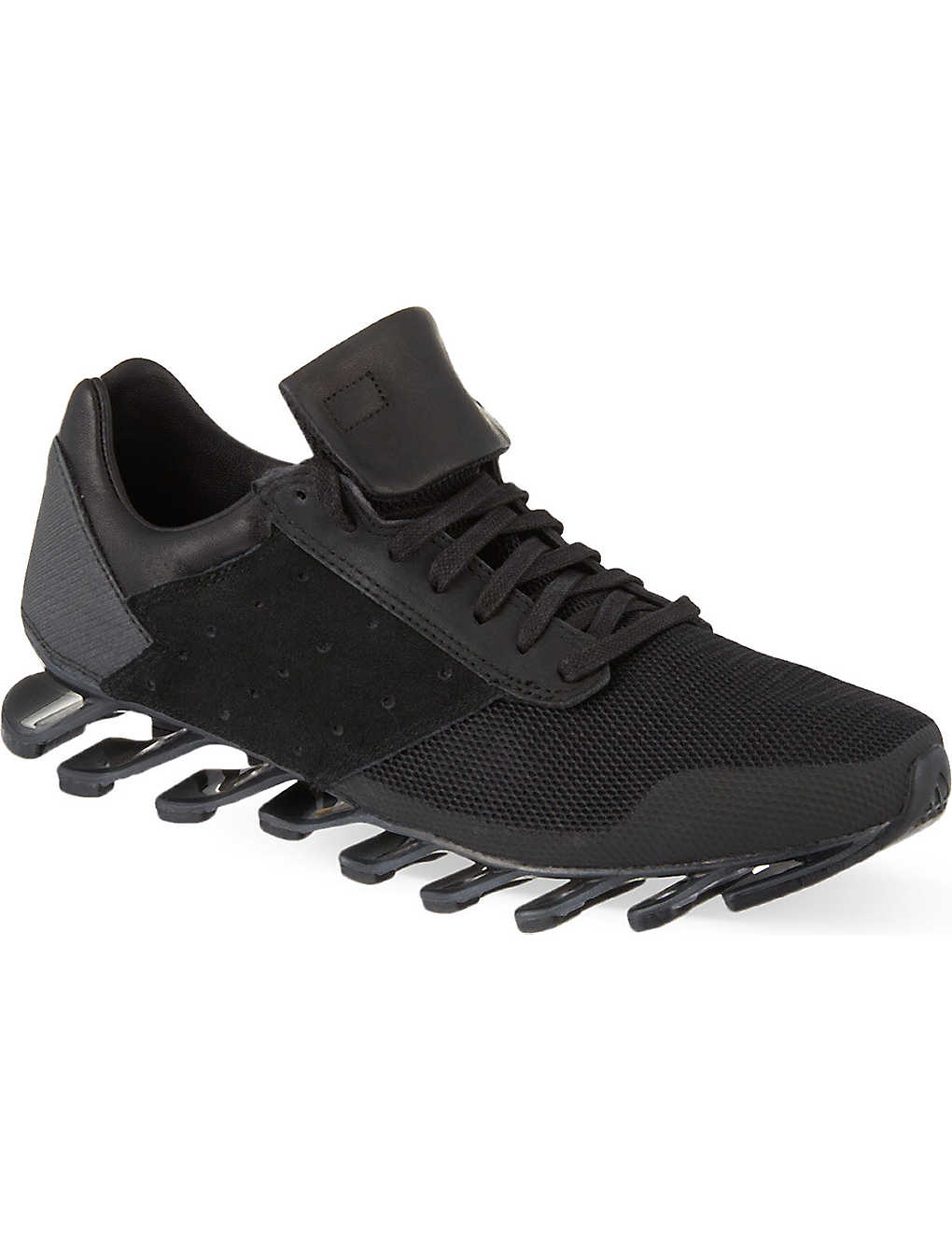 best service 74a9b 107a9 ADIDAS - Rick Owens X Adidas Springblade low trainers ...