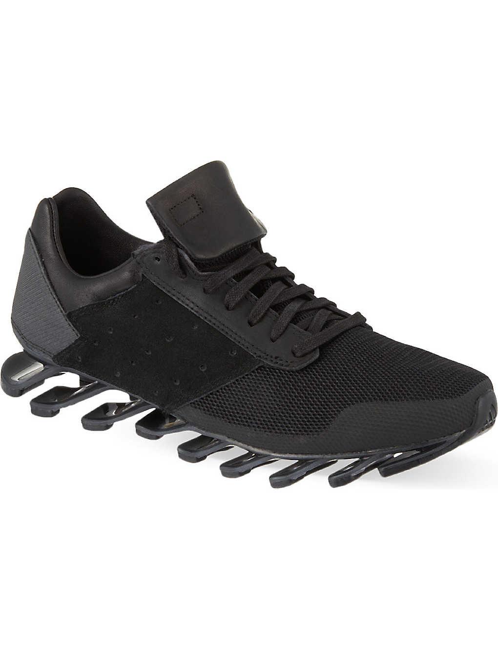 best service 92bb1 f9577 ADIDAS - Rick Owens X Adidas Springblade low trainers ...