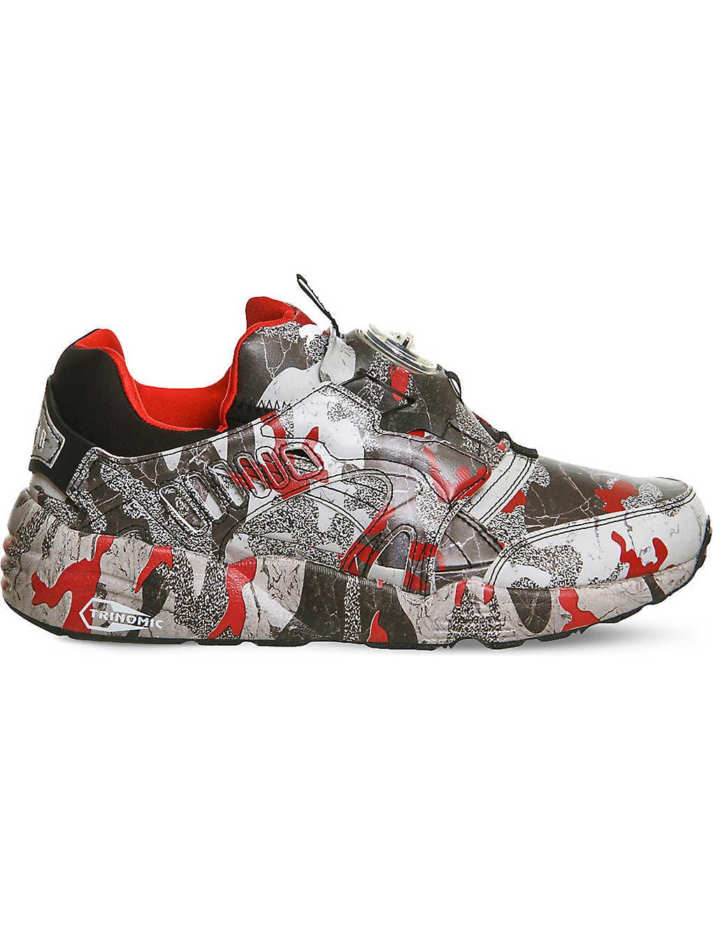 885503dd16b PUMA - Puma x trapstar disc blaze camo trainers   Selfridges.com