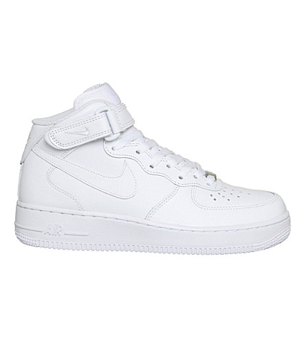 Women'S Air Force 1 Mid Casual Shoes, White
