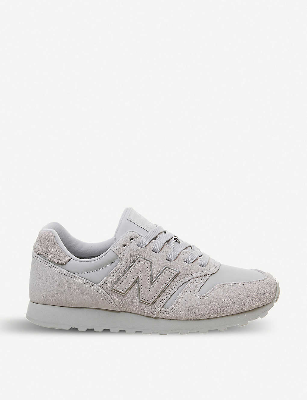 nouveaux styles 42286 4d246 Wl373 suede and mesh trainers