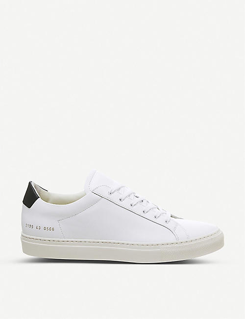 COMMON PROJECTS Achilles Retro low-top leather trainers