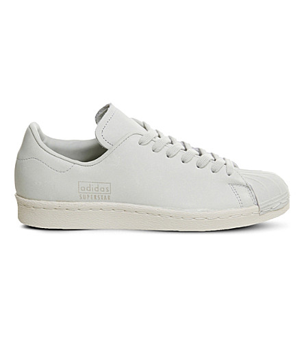 best website b01ea a4350 ADIDAS Superstar 80s leather trainers (Crystal+white