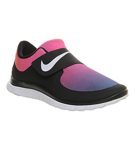 29adeecfd5792d NIKE Free socfly trainers (Black+white+pink+fla