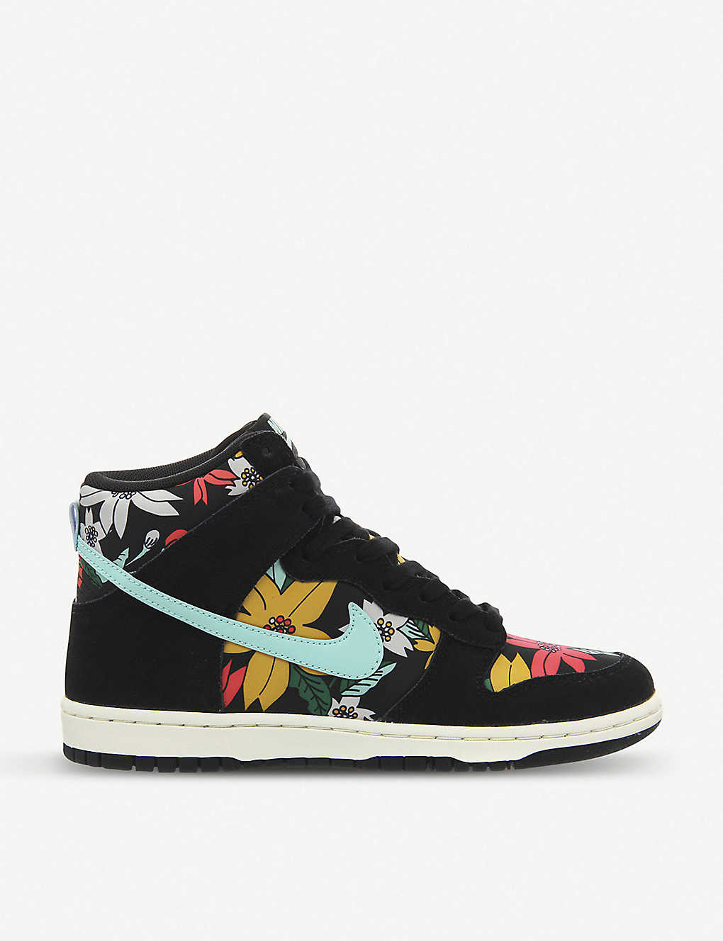 the best attitude be52b 59891 NIKE Dunk hi skinny aloha high-top suede trainers
