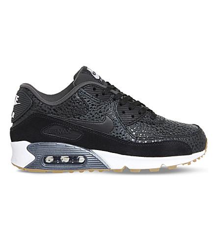 nike air max 90 black and white dots