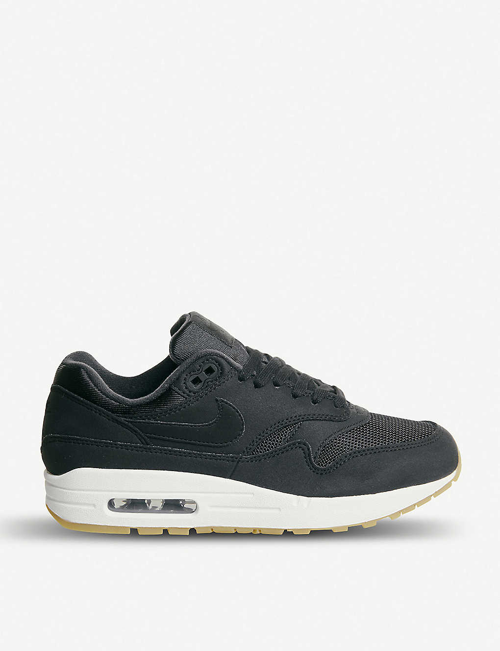 the latest aef92 409dd NIKE - Air Max 1 mixed leather trainers   Selfridges.com