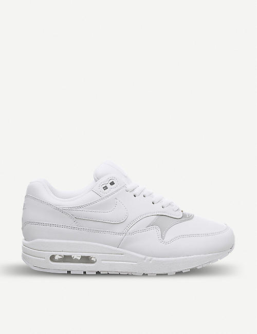 best service 7676e d9ac5 NIKE Air Max 1 leather trainers