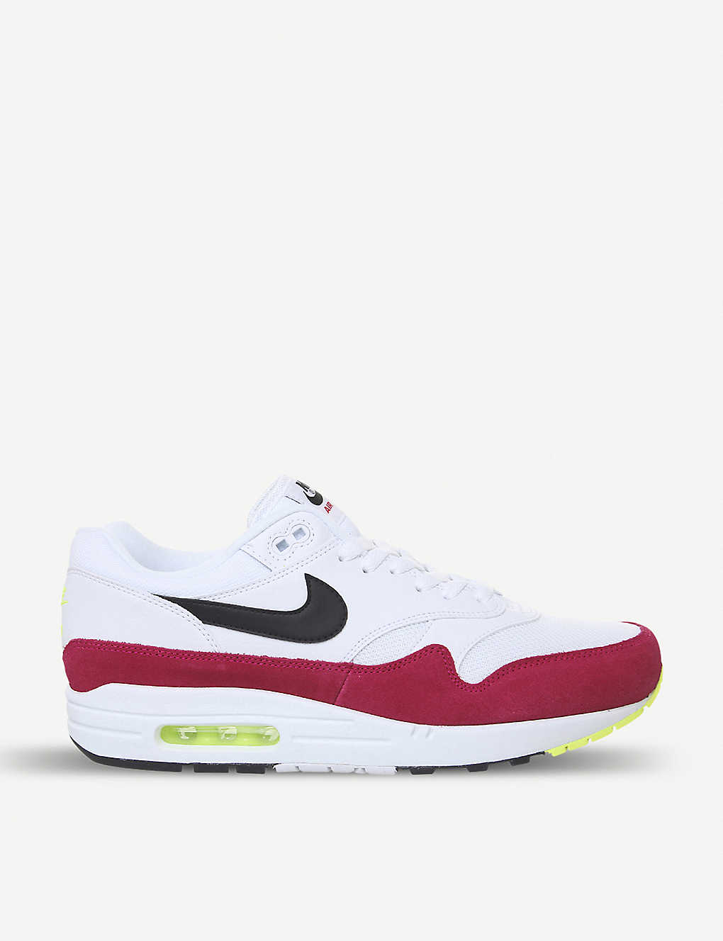finest selection 5c28a 0e7fc Air Max 1 leather trainers - White black pink ...