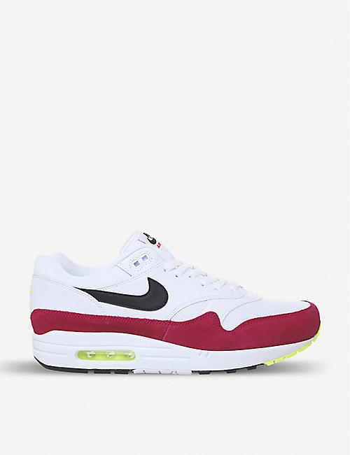best service 0a65a 81e45 NIKE Air Max 1 leather trainers