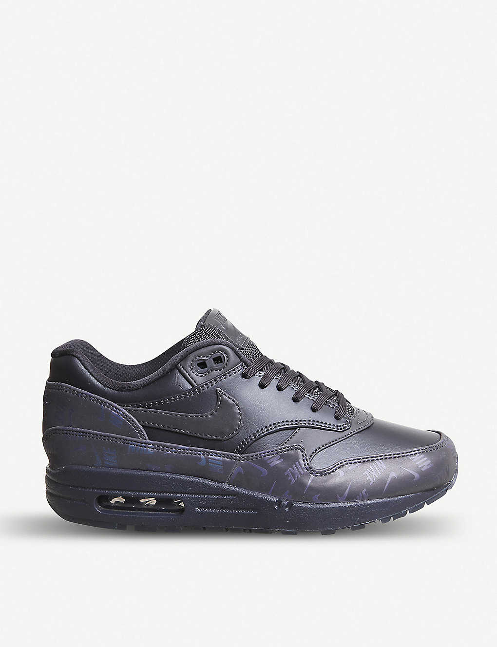 NIKE: Air Max 1 leather trainers