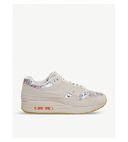 ... NIKE Air Max 1 floral-print leather sneakers (Camo+floral+f.  PreviousNext 70d1f3e0d