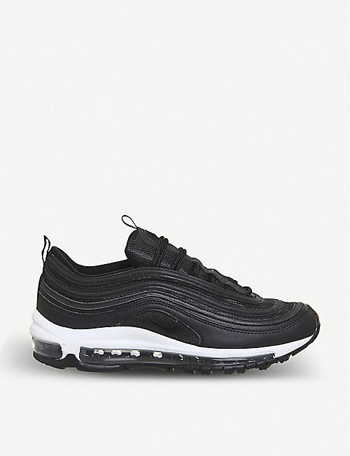 quality design 95e80 1c6c4 NIKE Air Max 97 leather and mesh trainers